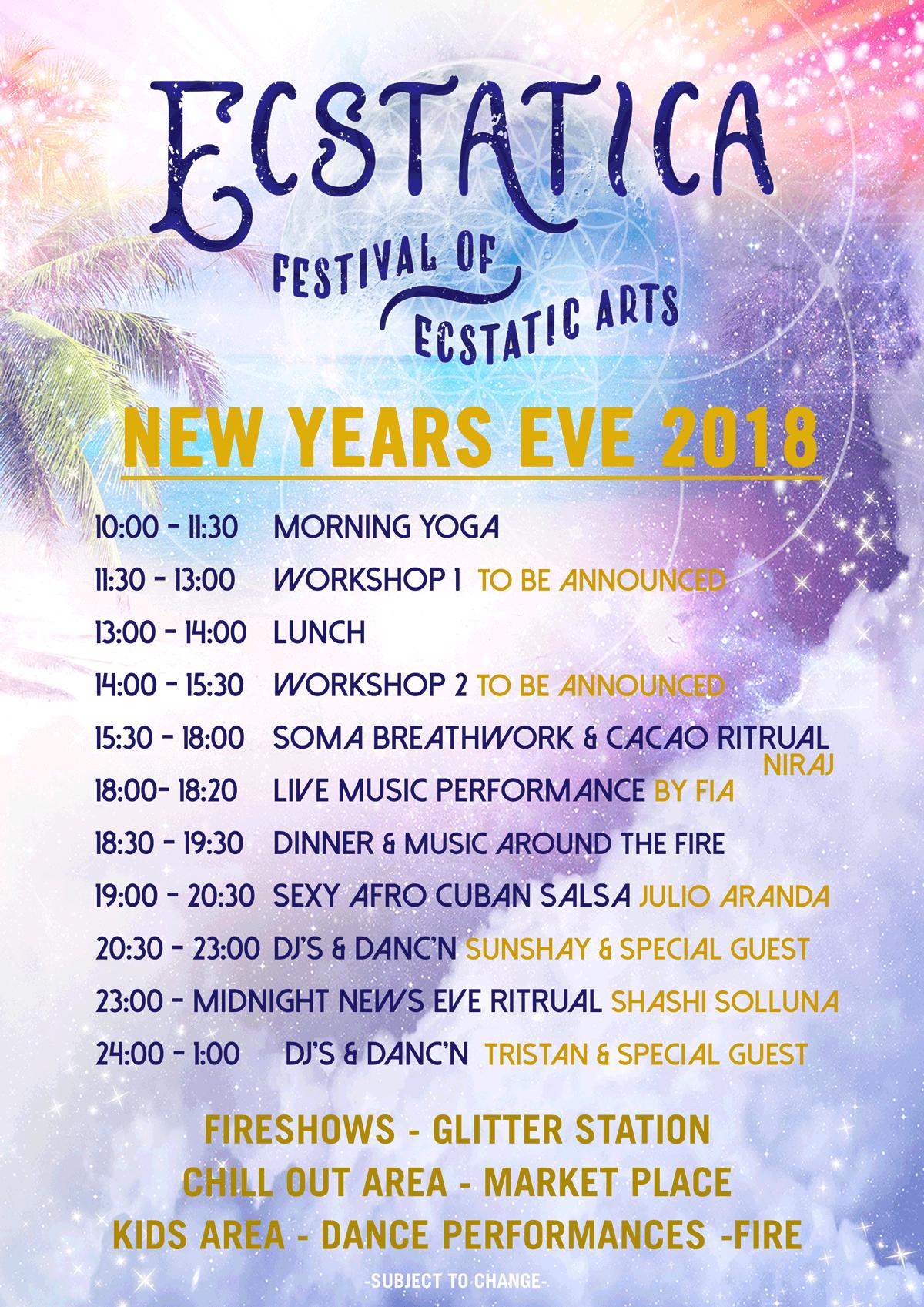 New Years Eve Koh Phangan